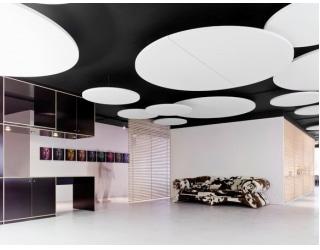 Ecophon plafond eiland Solo Circle XL - Systeemplafonds.nl