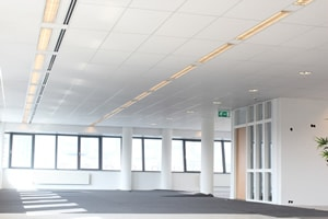 Systeemplafond kantoren