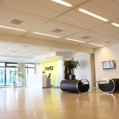 Plafondplaten kantoor