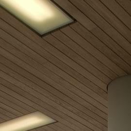 Derako linear gesloten plafond