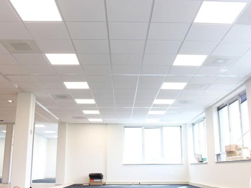 Systeemplafond en LED Verlichting