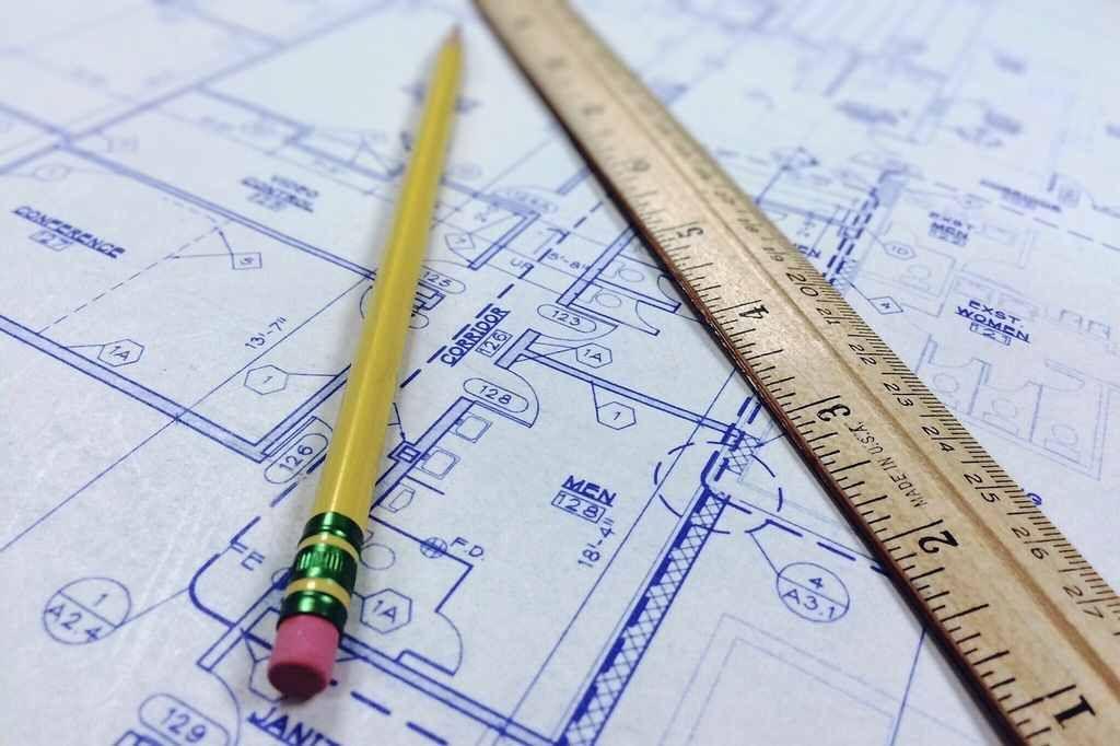 hygiensch systeemplafond horeca-planning-tekening