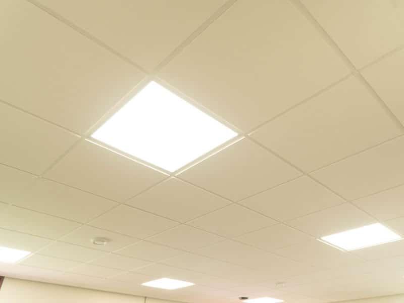 lichtreflectie - systeemplafond